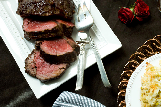 SPICE CRUSTED BEEF TENDERLOIN